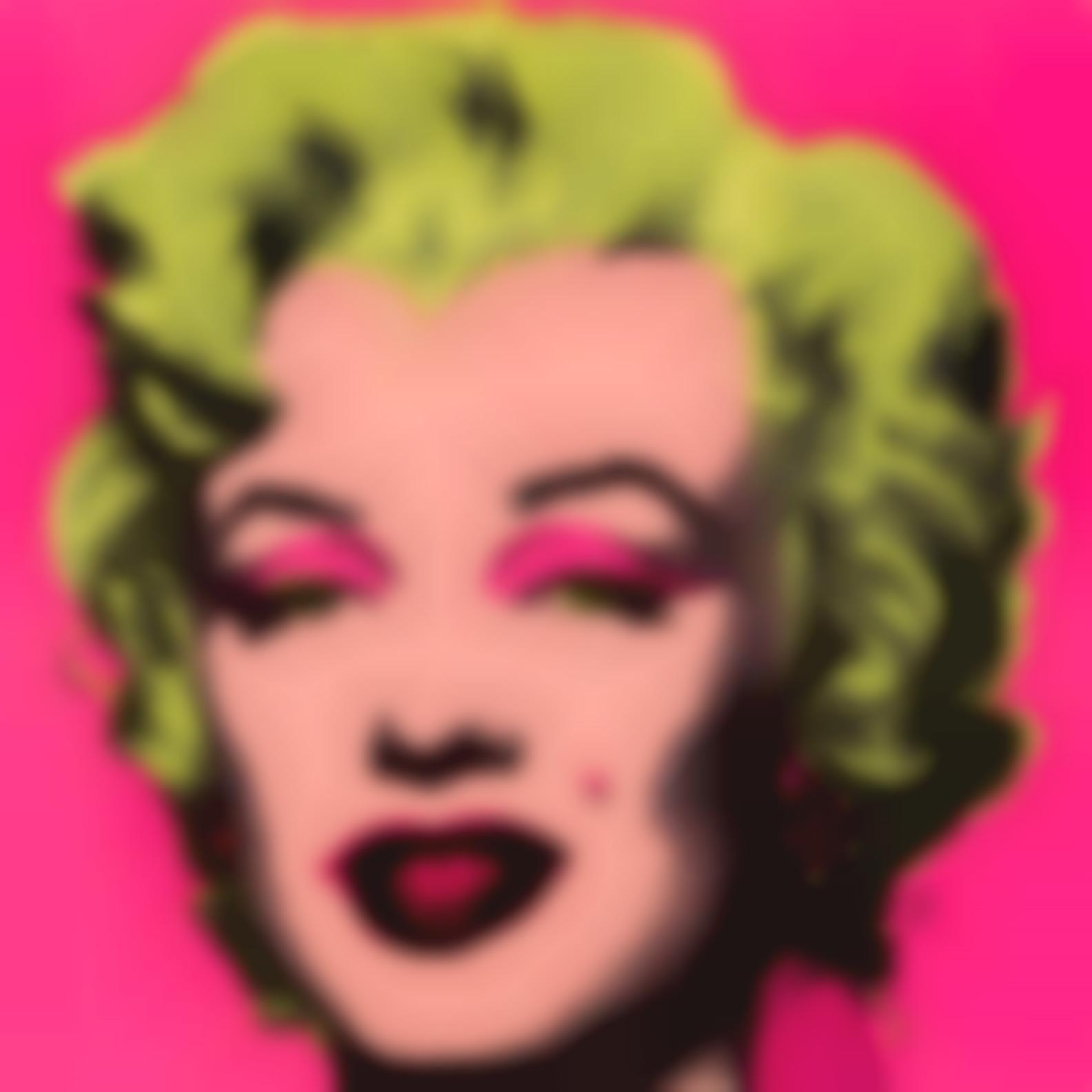 Andy Warhol-Marilyn (Invitation)-1981