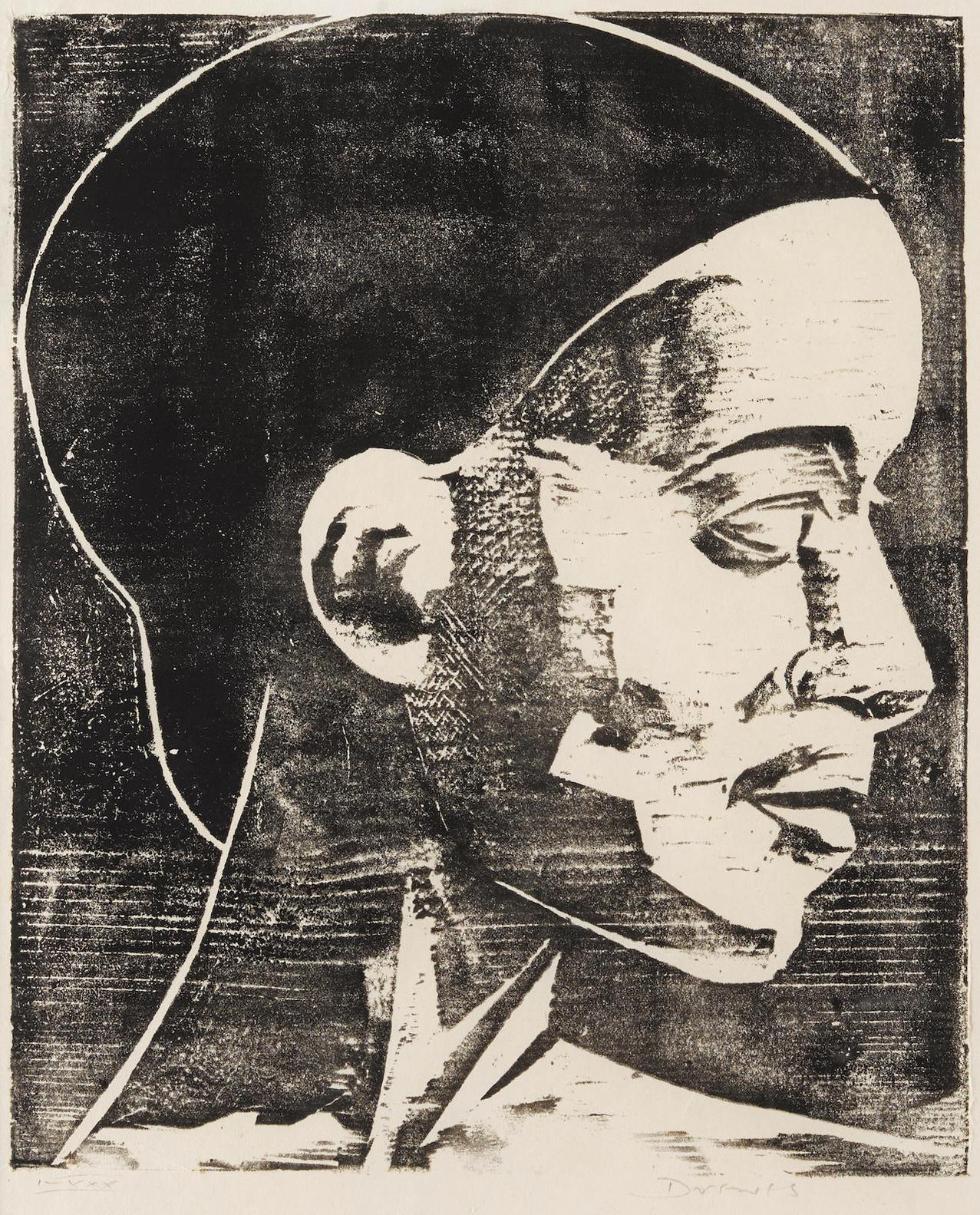 Werner Drewes-Harlem Beauty-1930