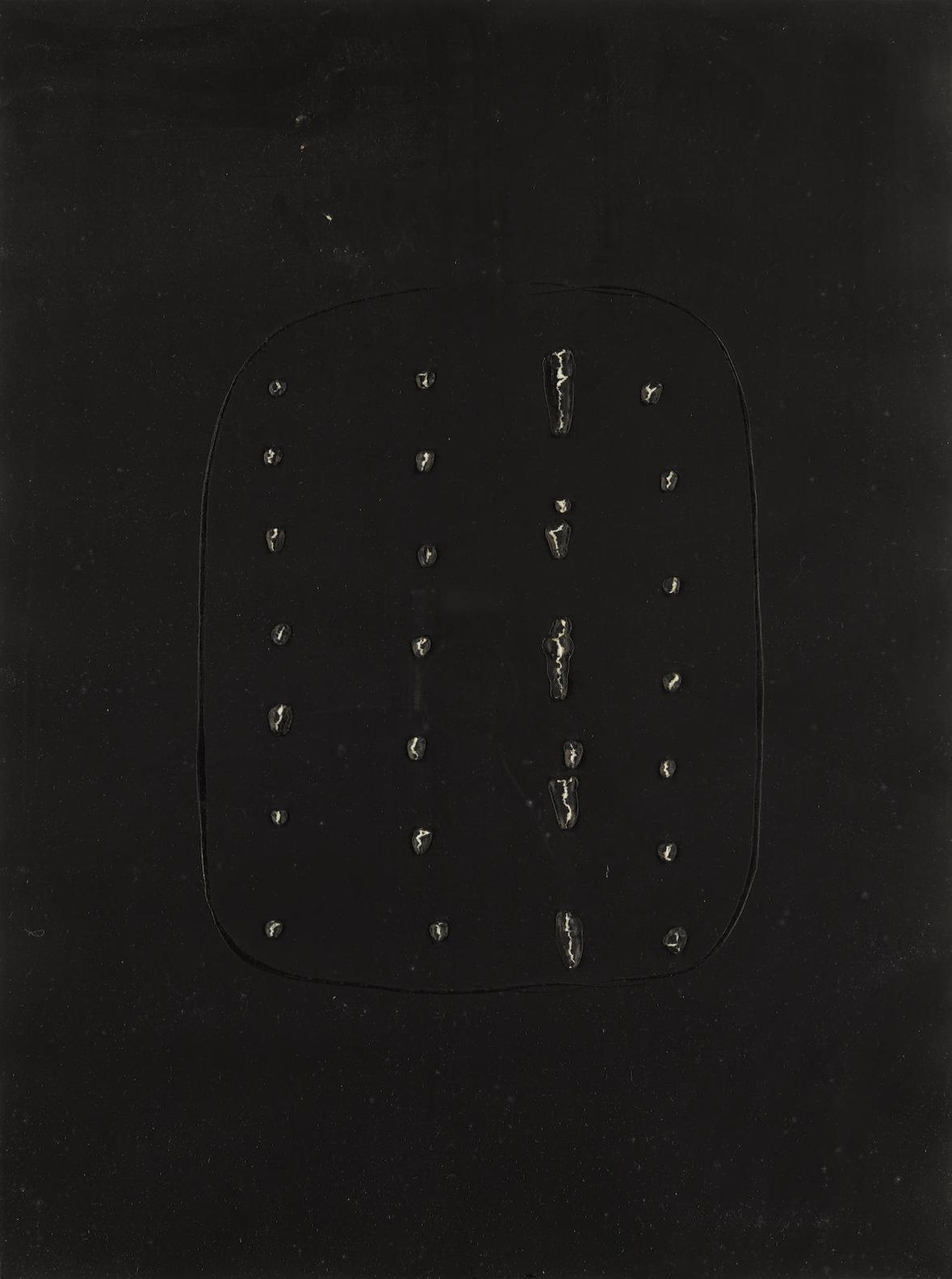 Lucio Fontana-Concetto Spaziale A-1968