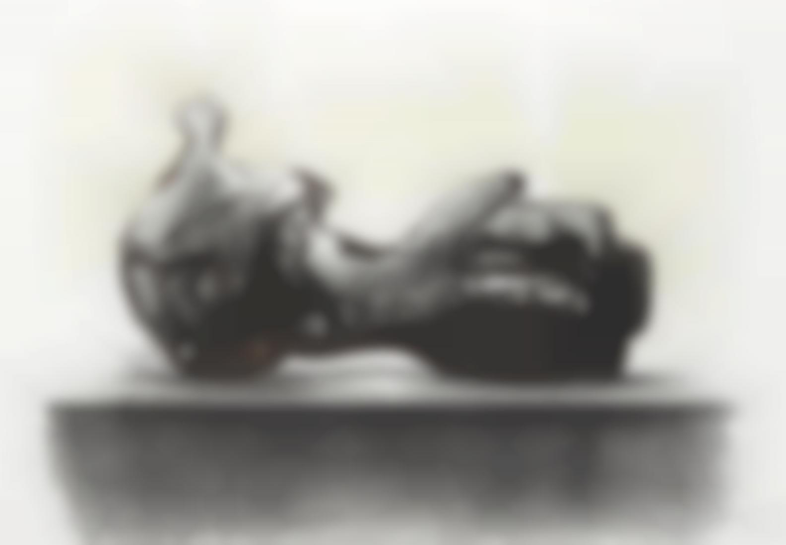 Henry Moore-Stone Reclining Figure-1977