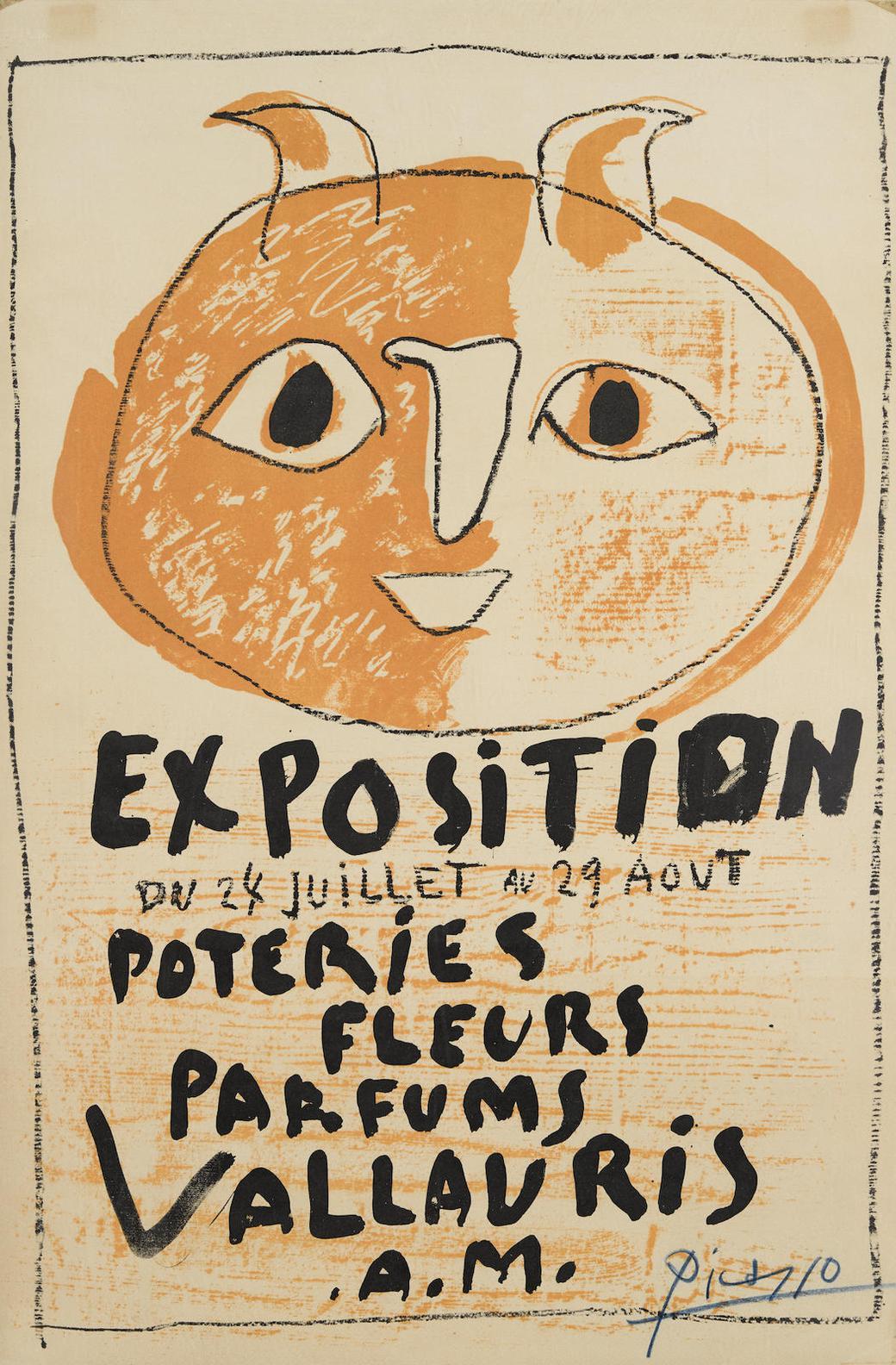 Pablo Picasso-Troisieme Affiche Vallauris-1948