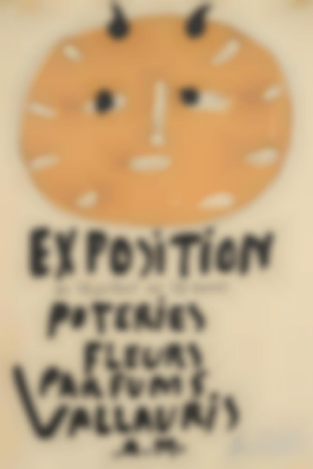 Pablo Picasso-Premiere Affiche Vallauris-1948