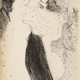 Henri de Toulouse-Lautrec-Danse Excentrique, With 16 Lithographs By Various Artists In The Exhibition Catalogue 'La Depeche De Toulouse'-1894