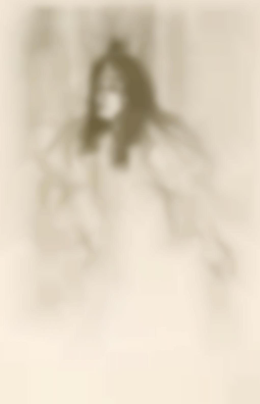 Henri de Toulouse-Lautrec-Miss May Belfort En Cheveaux-1895