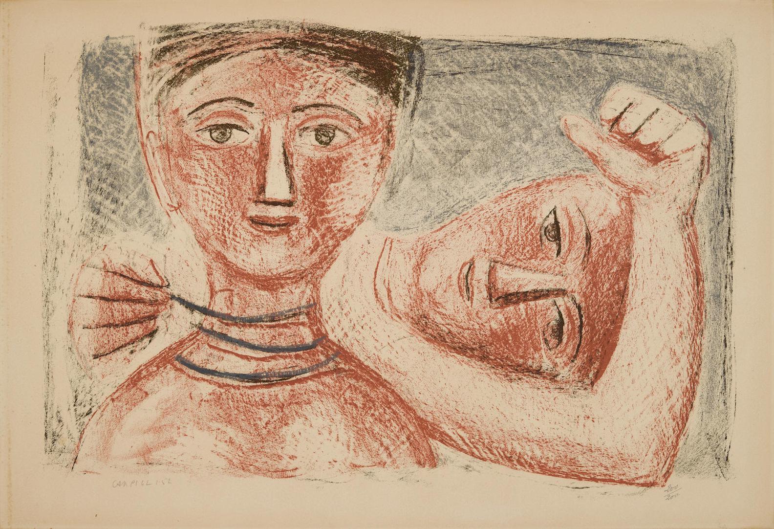 Massimo Campigli-Le Collier-1952