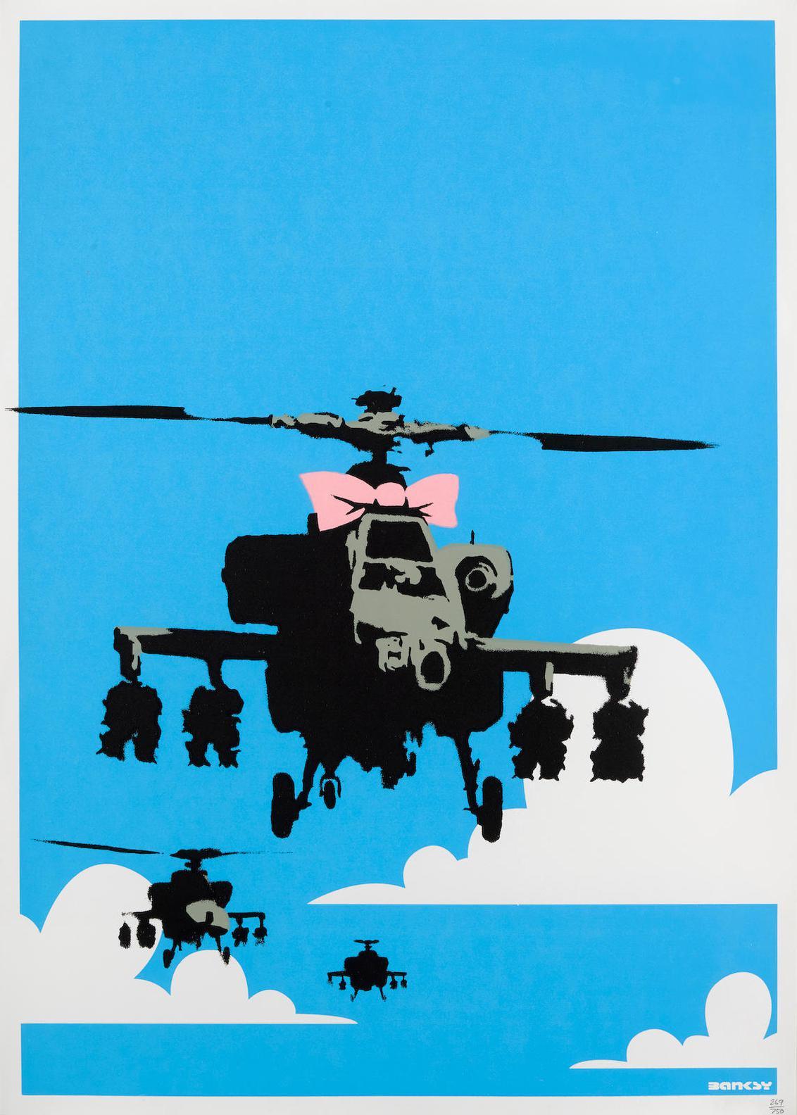 Banksy-Happy Chopper-2003