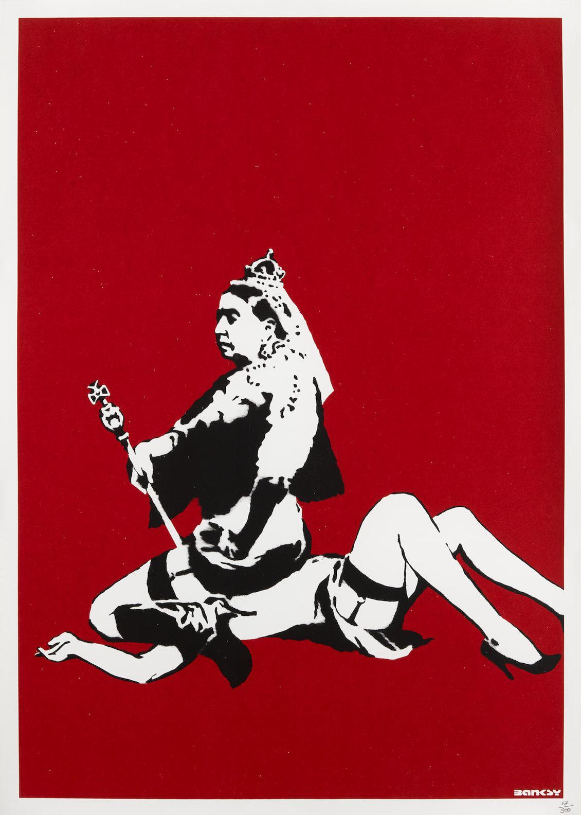 Banksy-Queen Victoria-2003