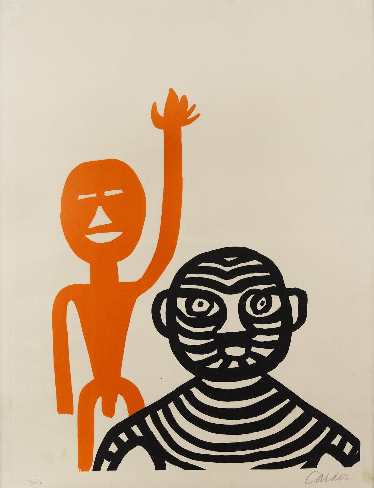 Alexander Calder-Les Affichistes-1965
