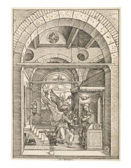 Albrecht Durer-The Annunciation, From-1503