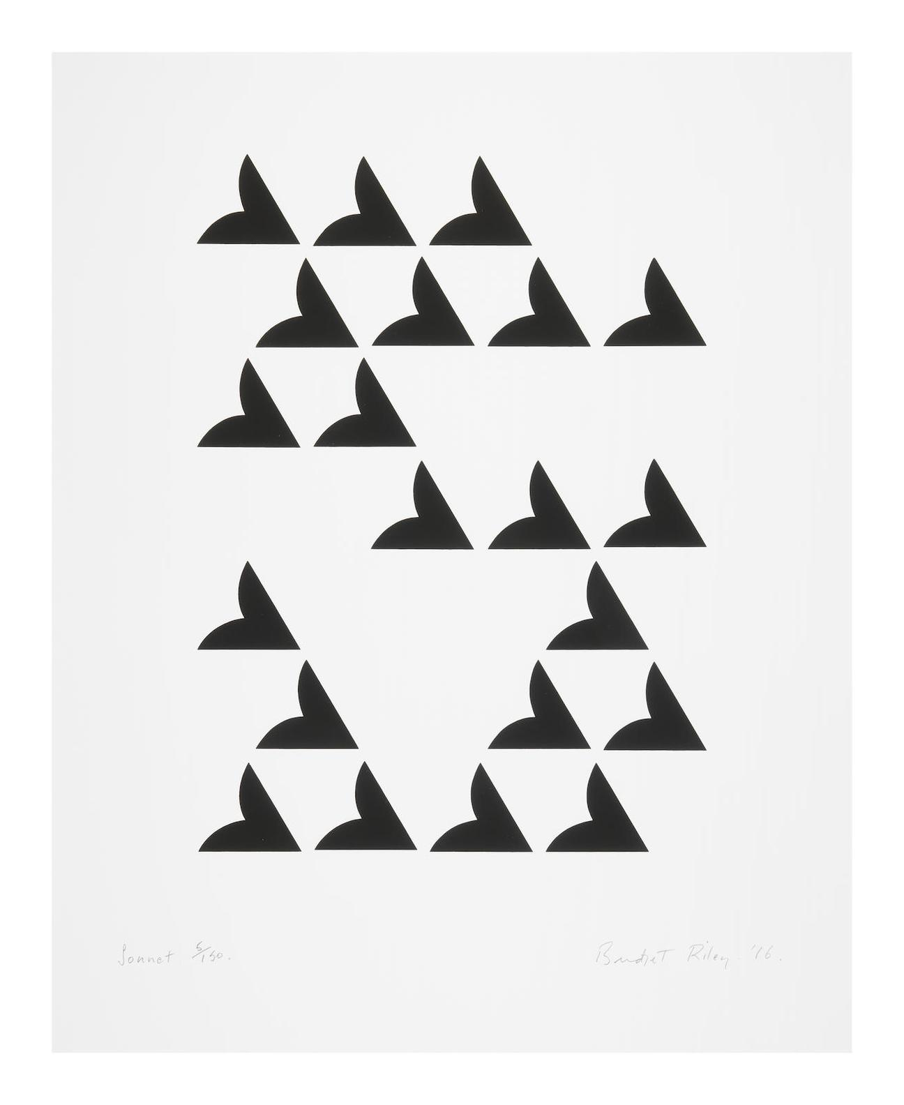 Bridget Riley-Sonnet-2016