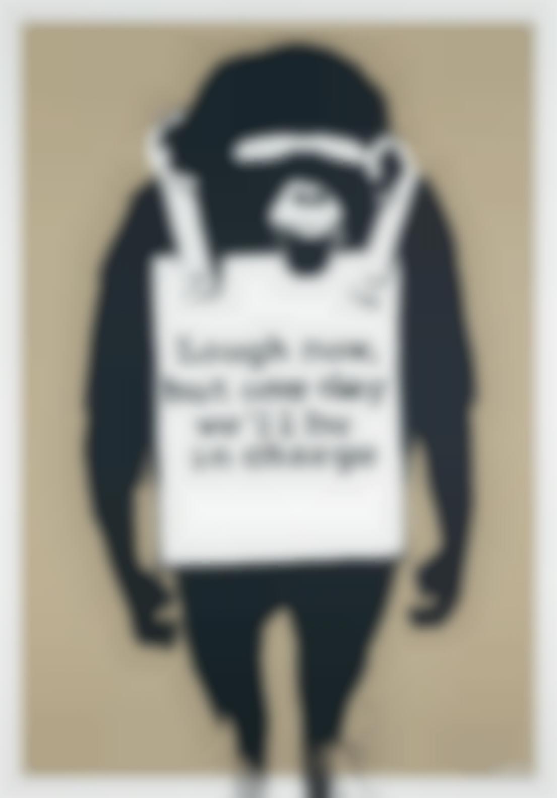 Banksy-Laugh Now-2003