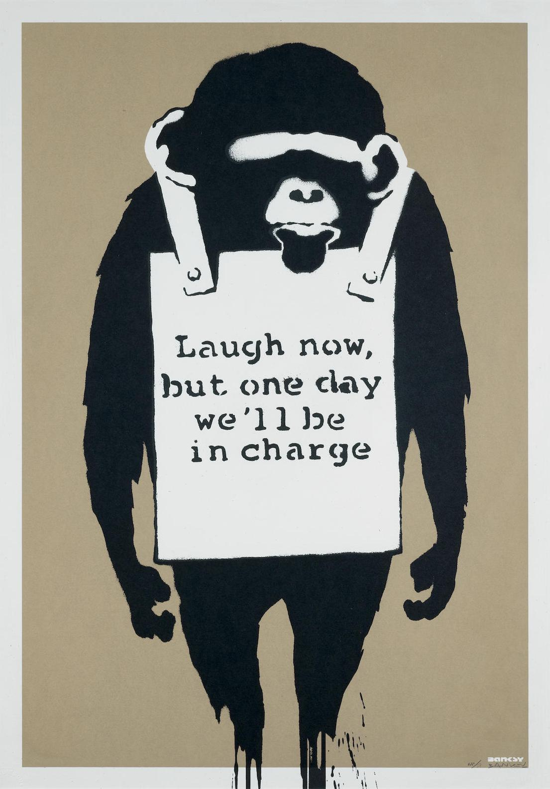 Banksy-Laugh Now-2003