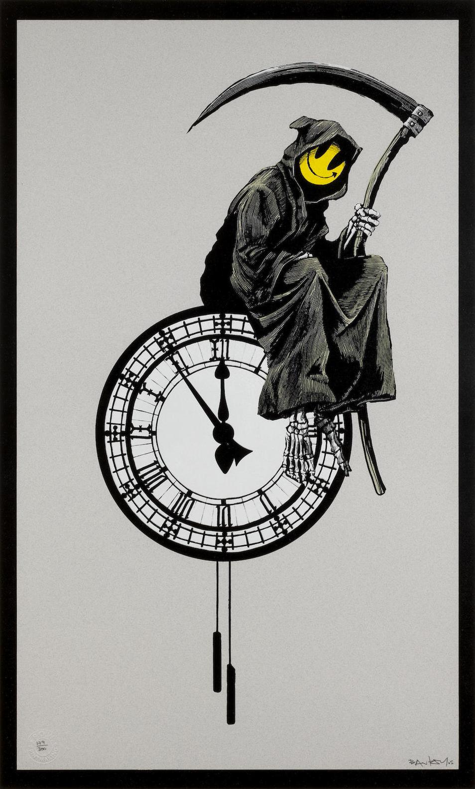Banksy-Grin The Reaper-2005