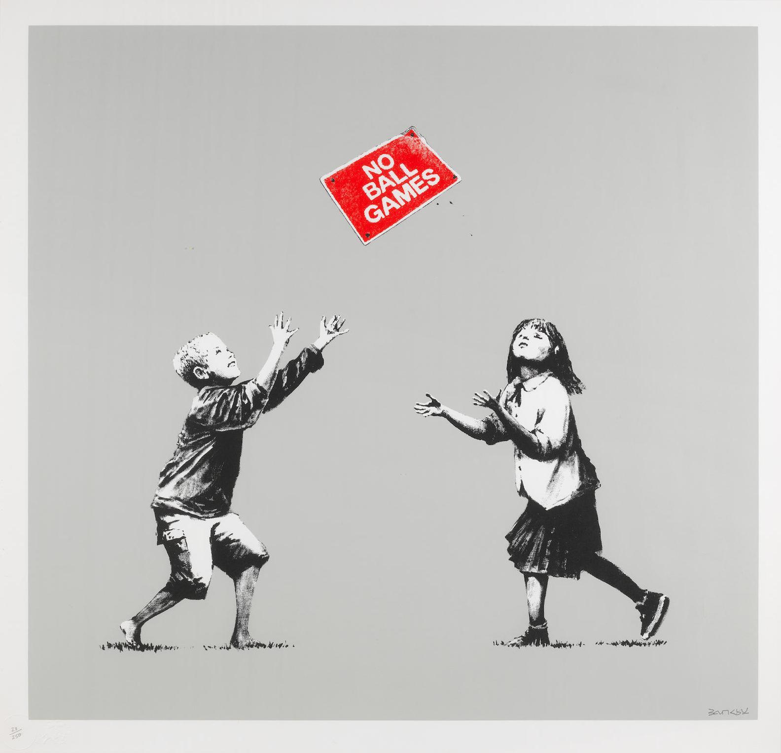 Banksy-No Ball Games-2009