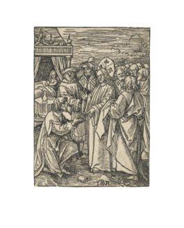 Jacob Cornelsz. Van Oostzanen - Christ And The Captain-1520