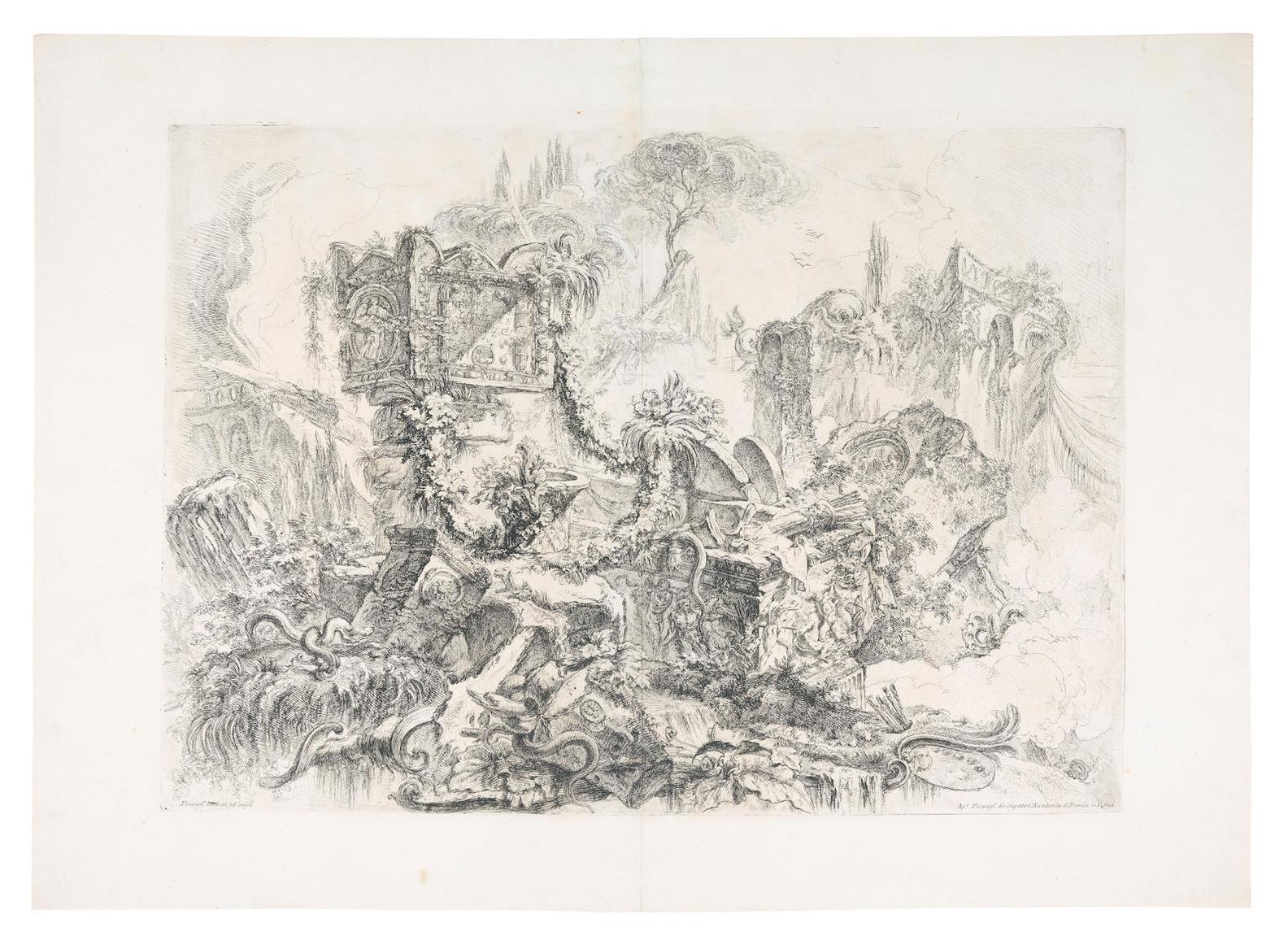 Giovanni Battista Piranesi-Grotteschi-1747