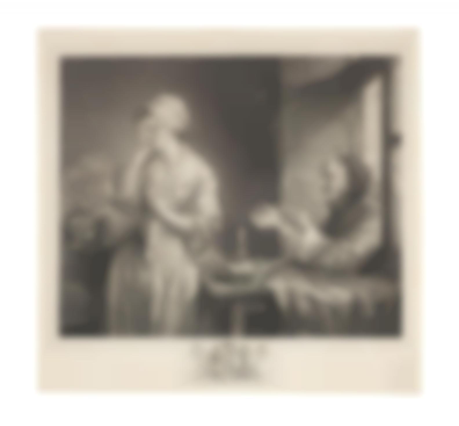 Francois Robert Ingouf - La Fille Confuse; Abraham Bosse - Donner a manger (D.50) and Donner a boire (D.51)-1773
