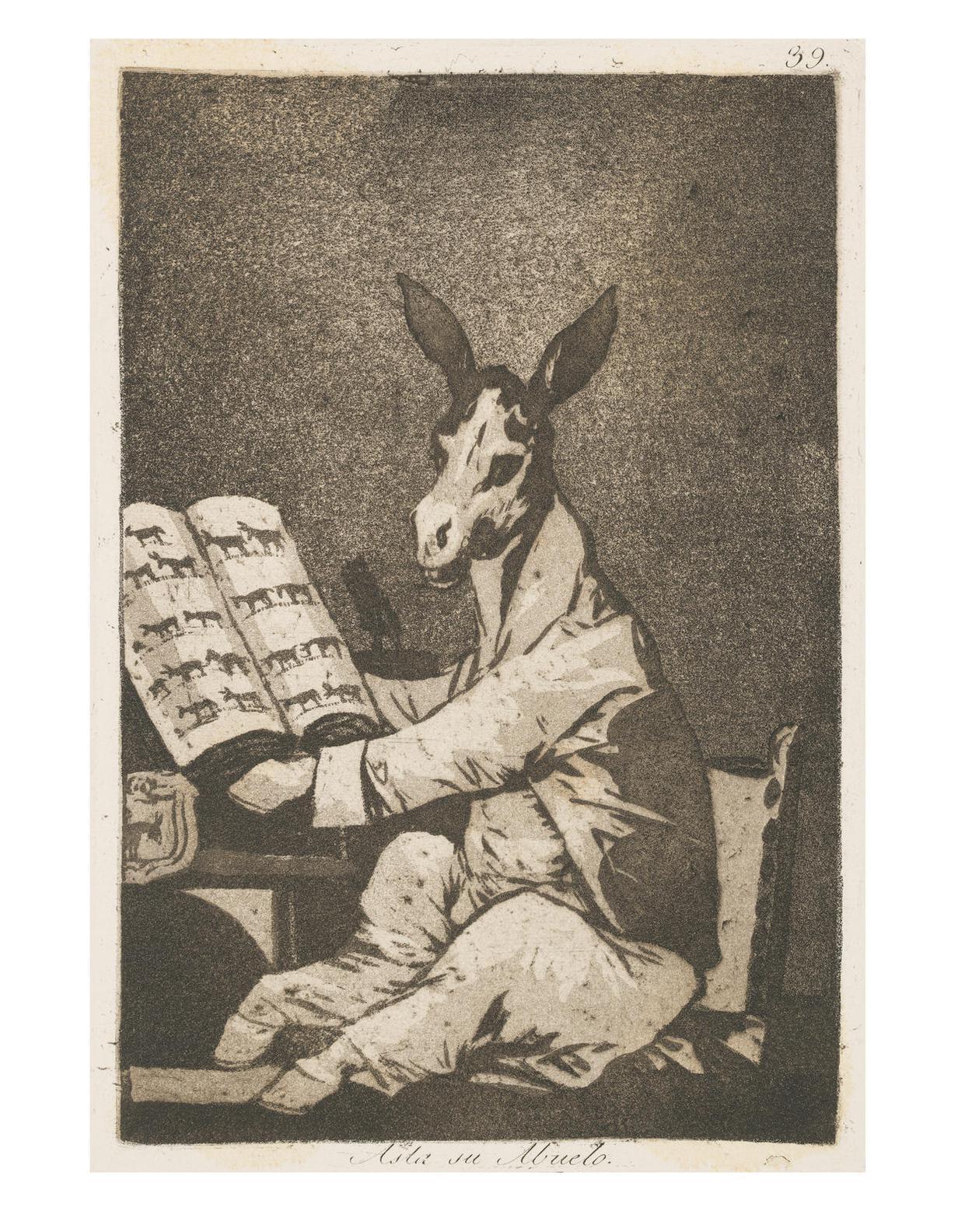 Francisco Jose de Goya y Lucientes - Los Caprichos-1799