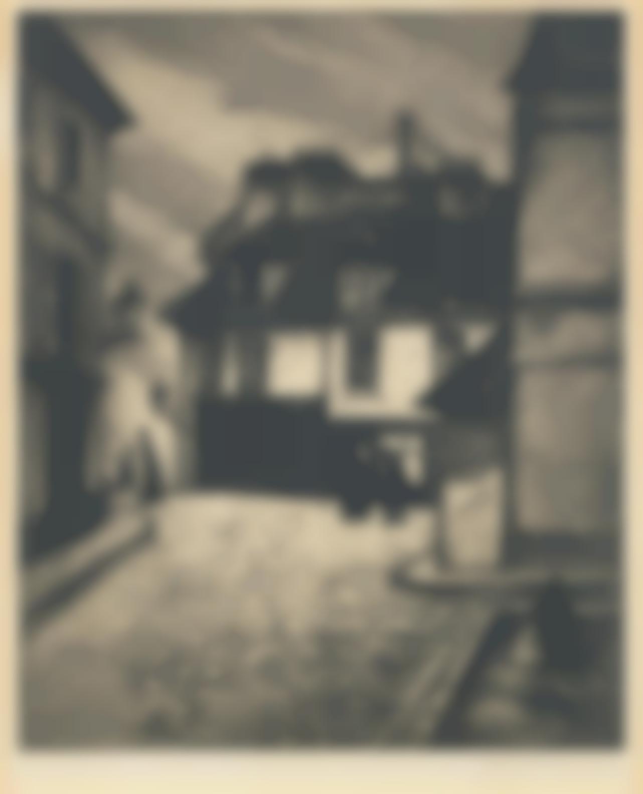 Christopher Richard Wynne Nevinson A.R.A - La Butte Montmartre-1922