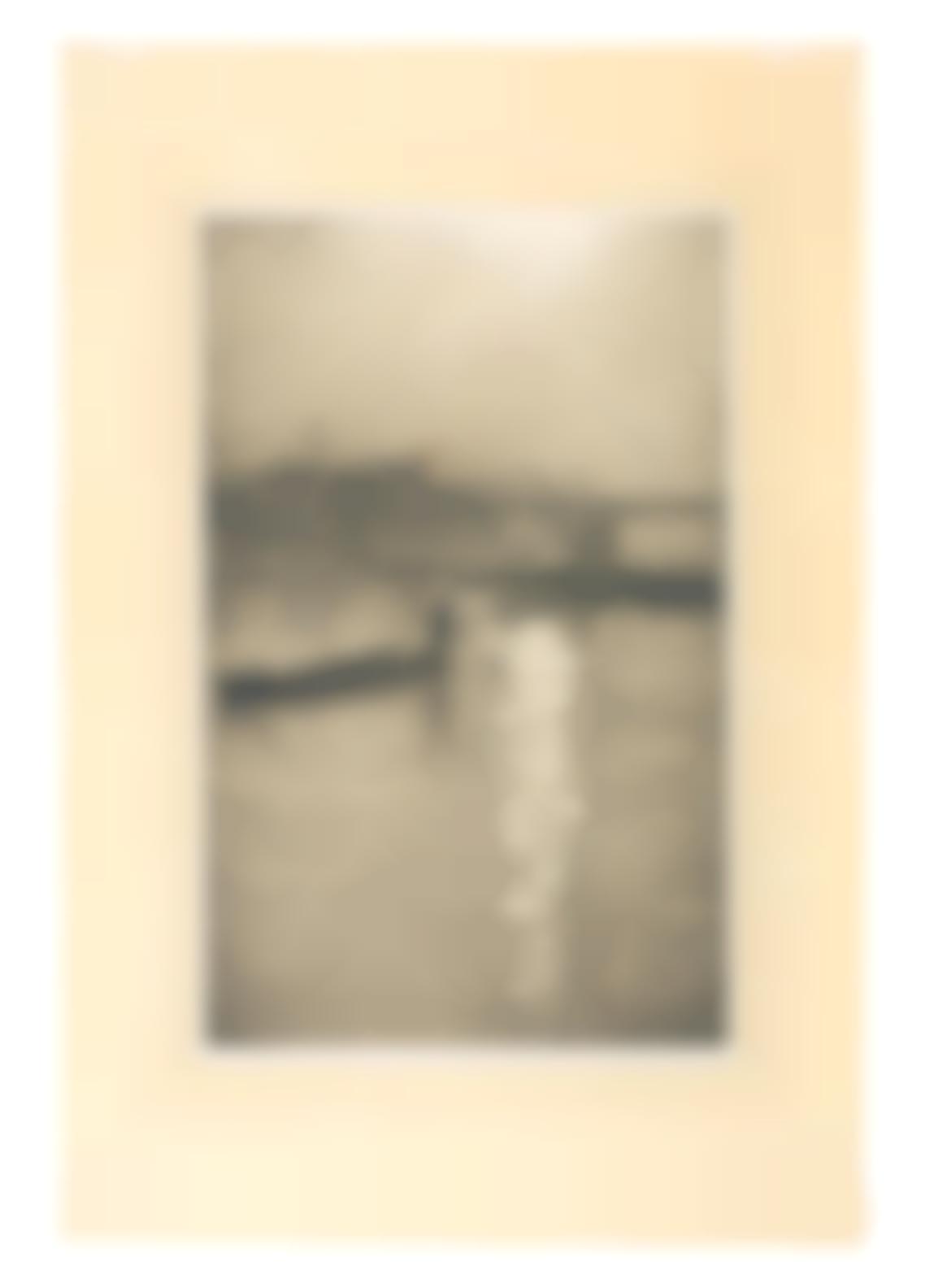 Christopher Richard Wynne Nevinson A.R.A - From Waterloo Bridge - Sun Bursting Through Fog-1926