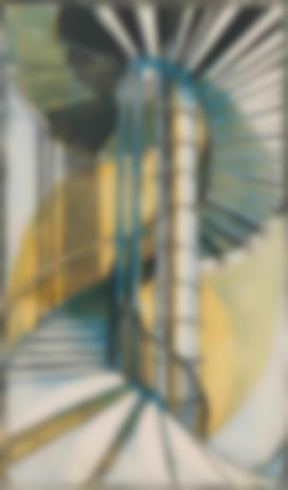 Cyril Edward Power-The Tube Staircase-1929