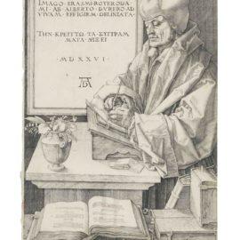 Albrecht Durer-Desiderius Erasmus Of Rotterdam-1526