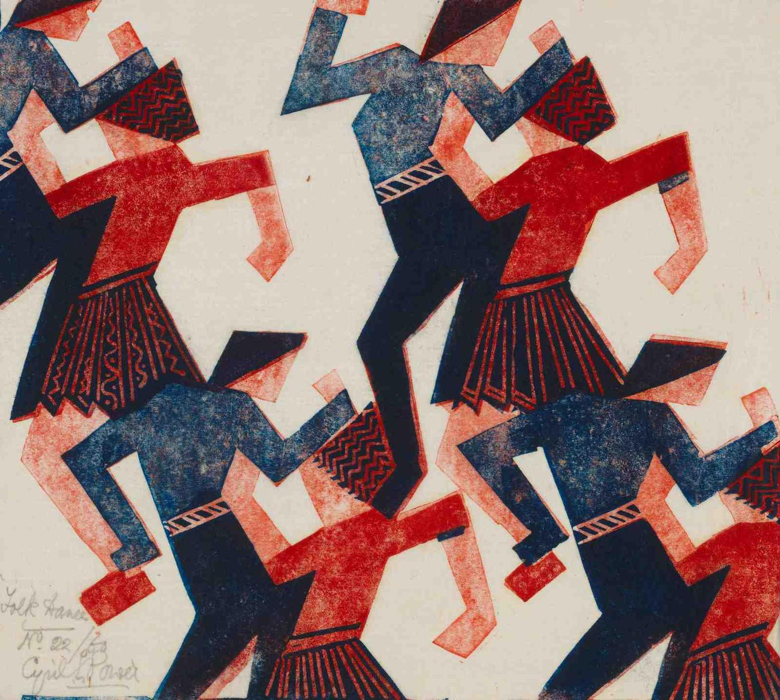 Cyril Edward Power-Folk Dance-1932