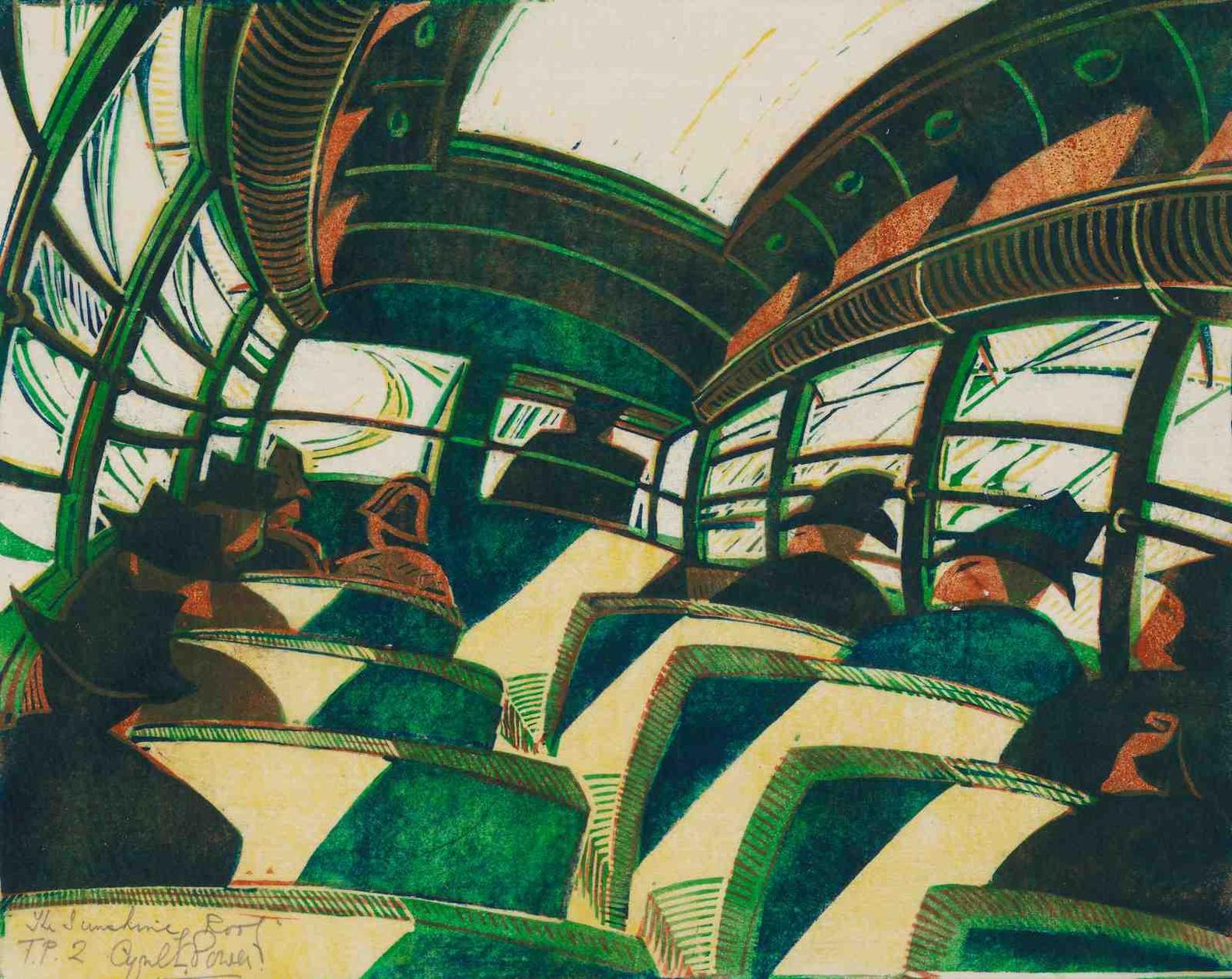 Cyril Edward Power-The Sunshine Roof-1934