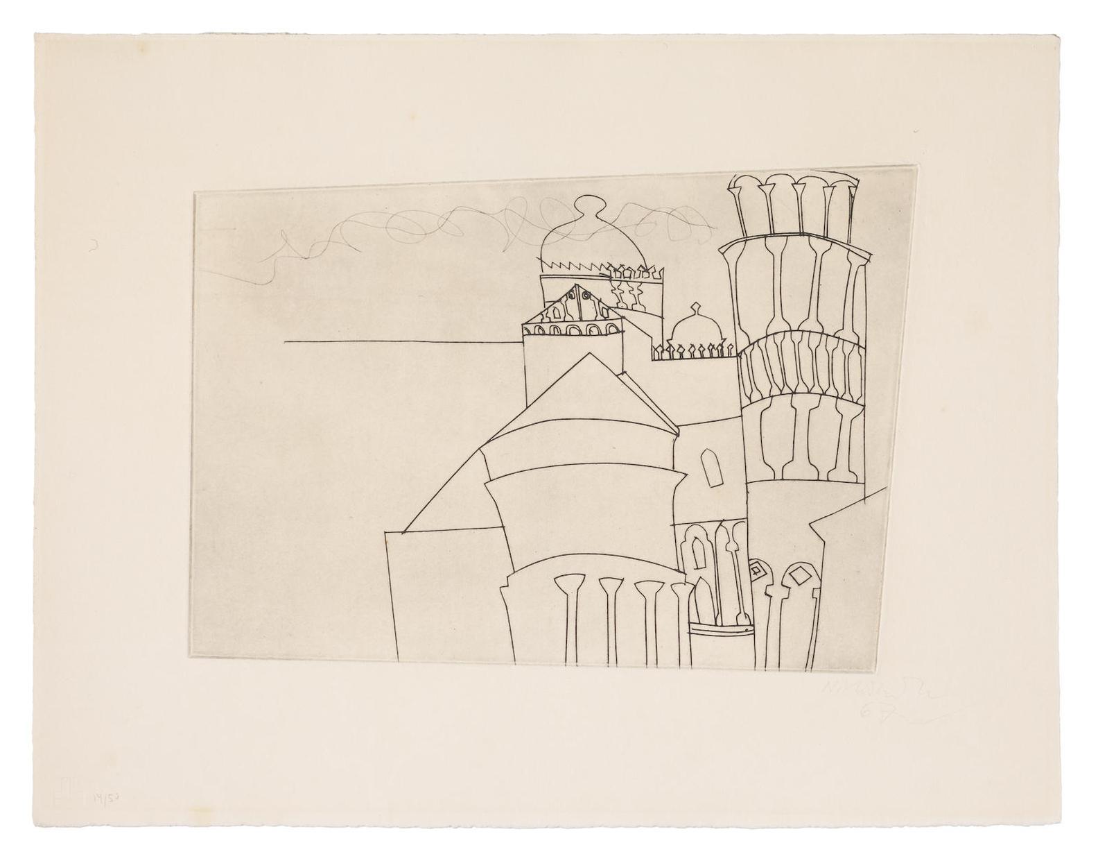 Ben Nicholson-Pisa As Intended-1967