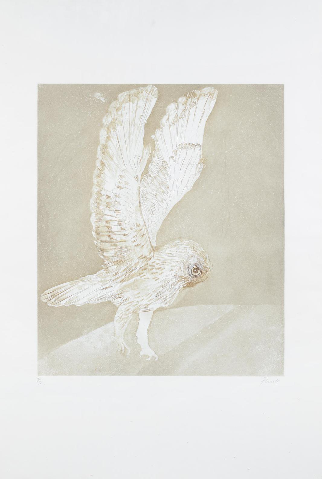 Elisabeth Frink-Six Owls-1977