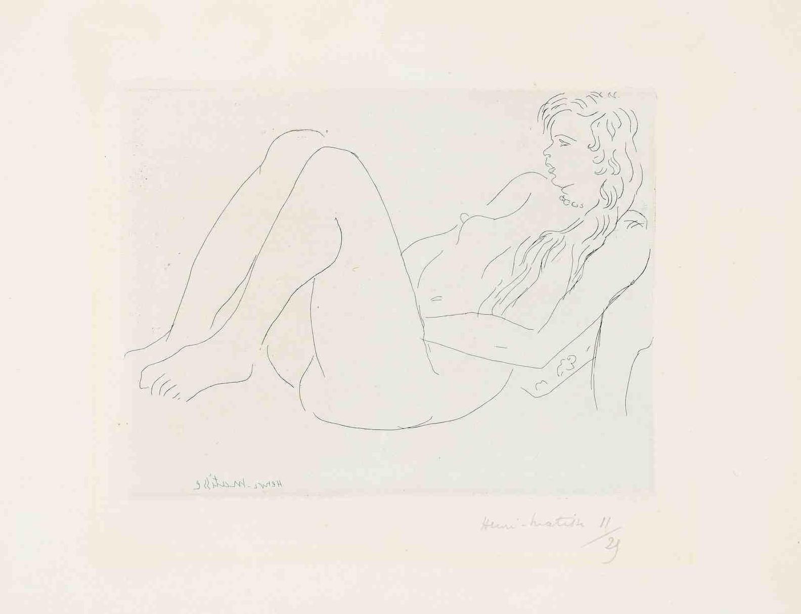Pierre-Auguste Renoir-La Danse A La Campagne - 2E Planche-1890