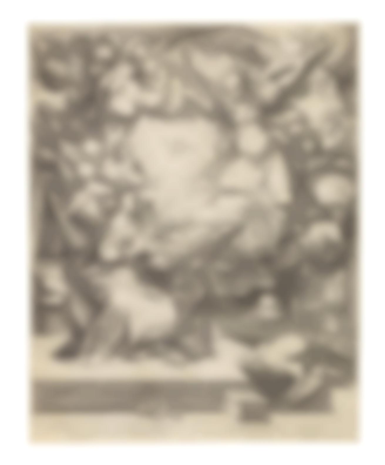 Jacob De Gheyn II - The Annunciation-1593