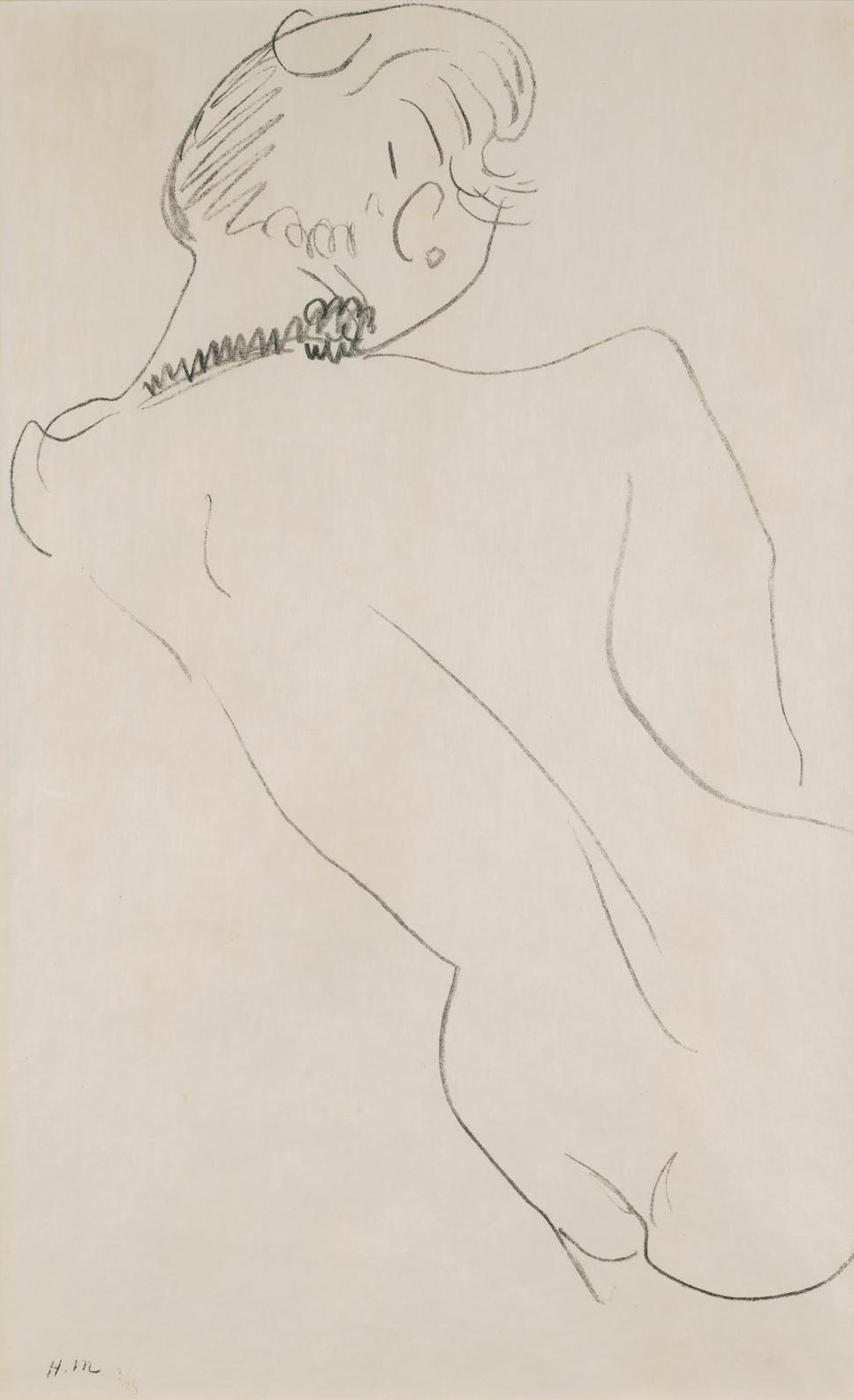 Henri Matisse-Figure De Dos Au Collier Noir-1906