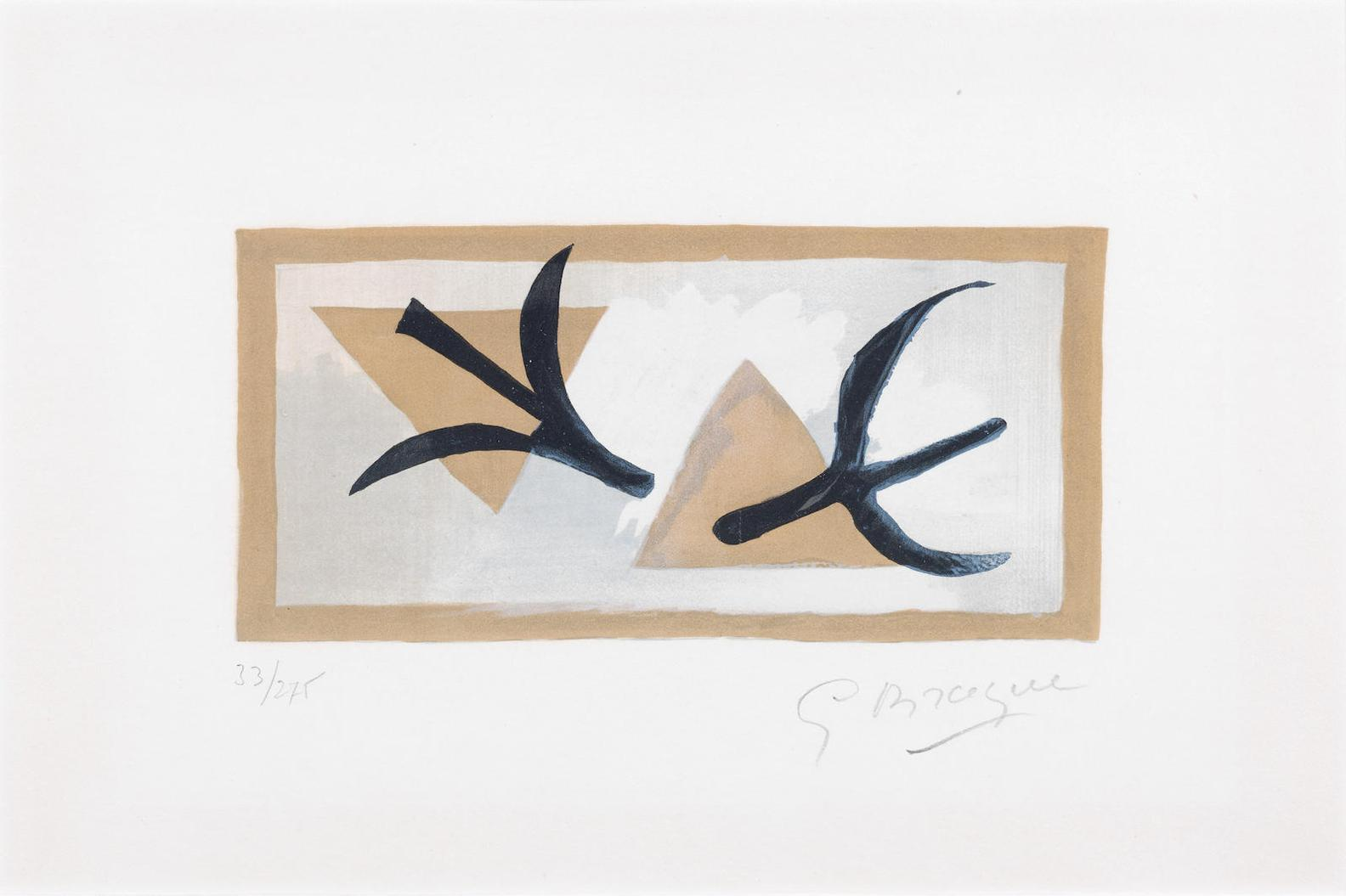 Georges Braque-Les Martinets-