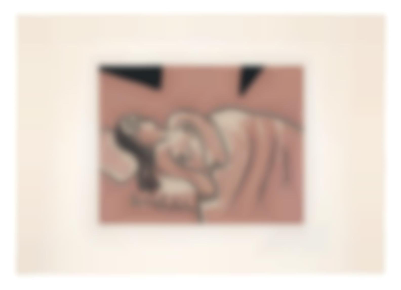 Pablo Picasso-Femme Endormie-1962