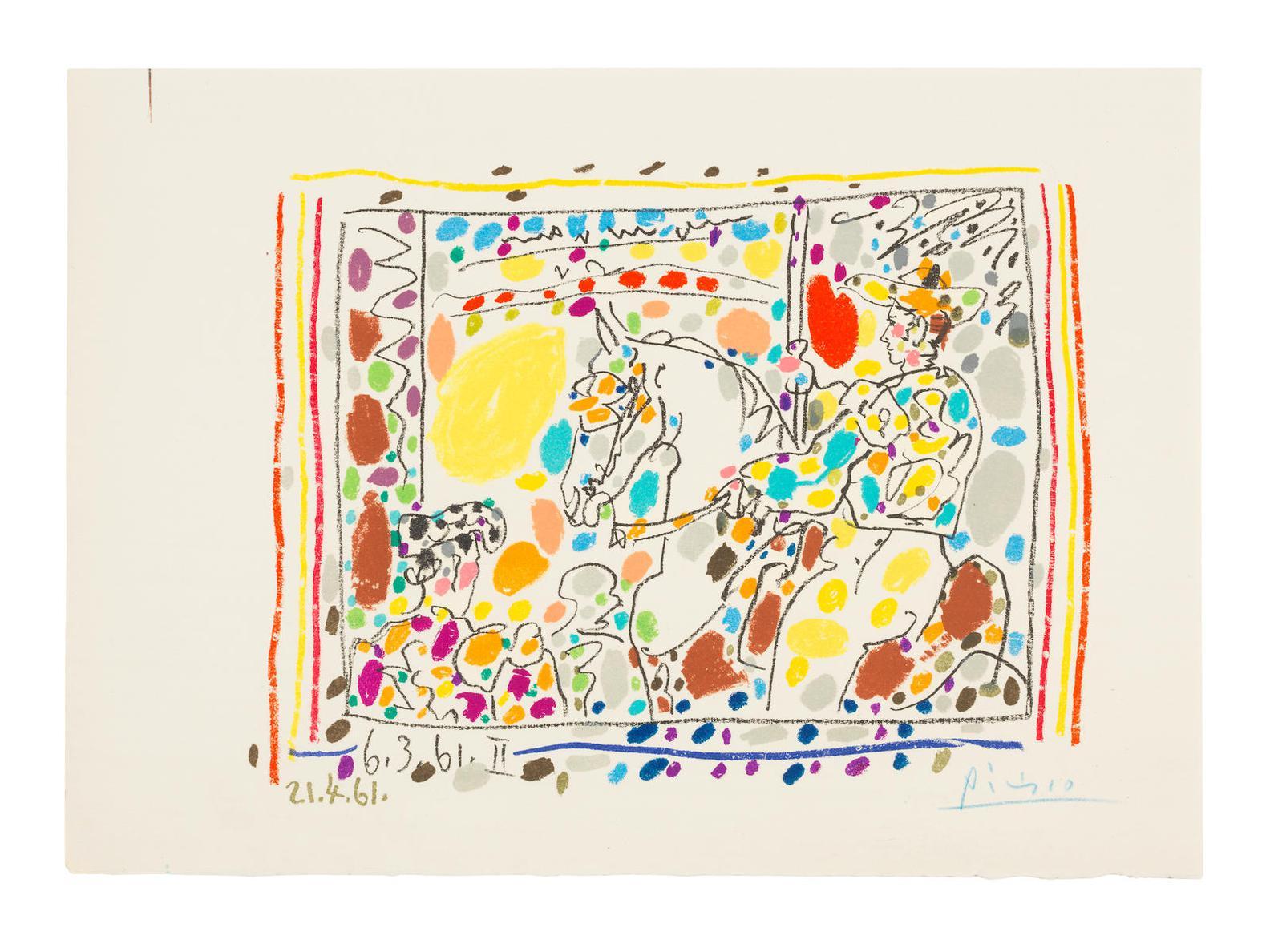 Pablo Picasso-Le Picador II-1961