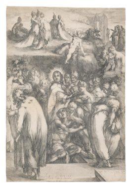 Jacques Bellange - The Raising Of Lazarus-1630