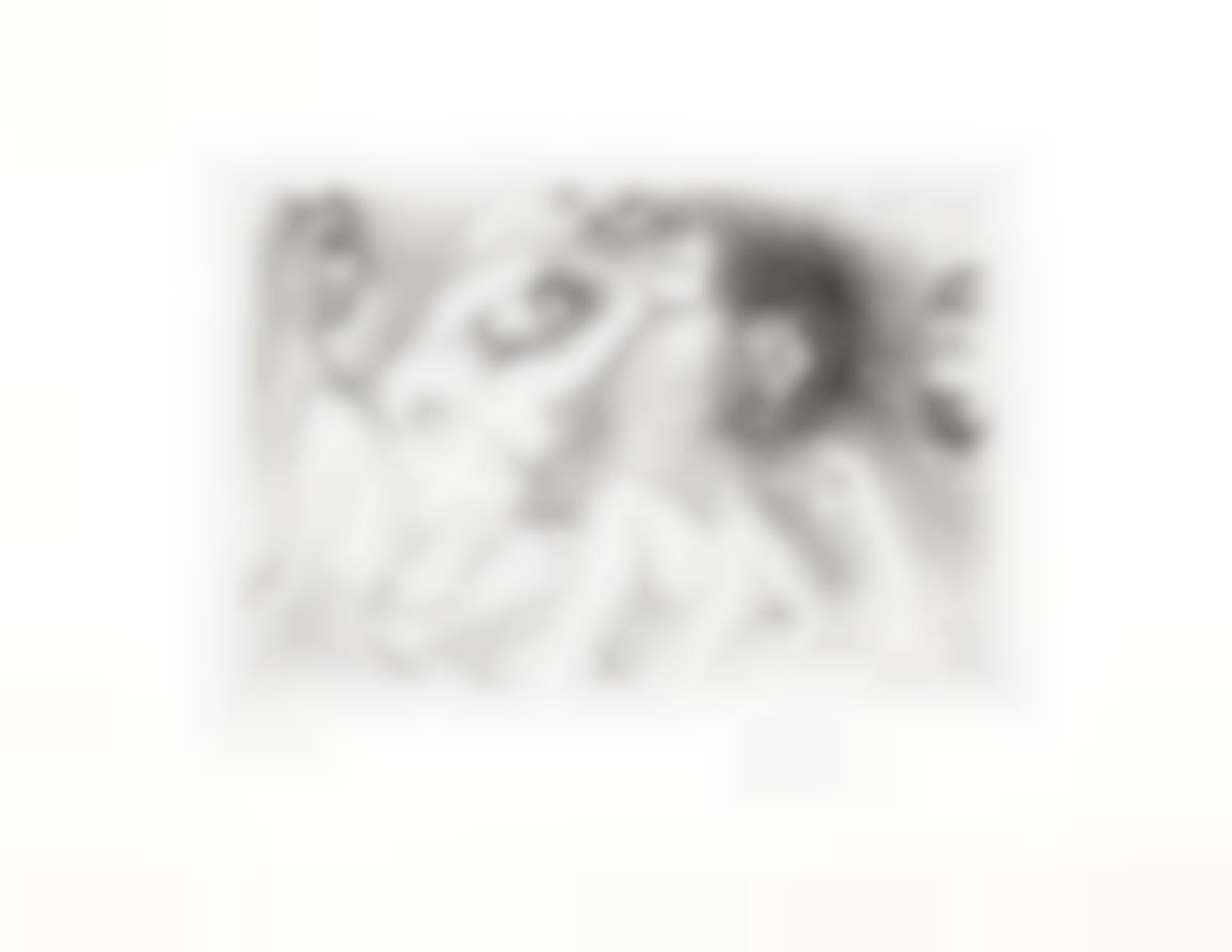 Pablo Picasso-Couple Pensant A Une Partie A Trois, from Series 346 (Bloch 1698; Baer 1714)-1968