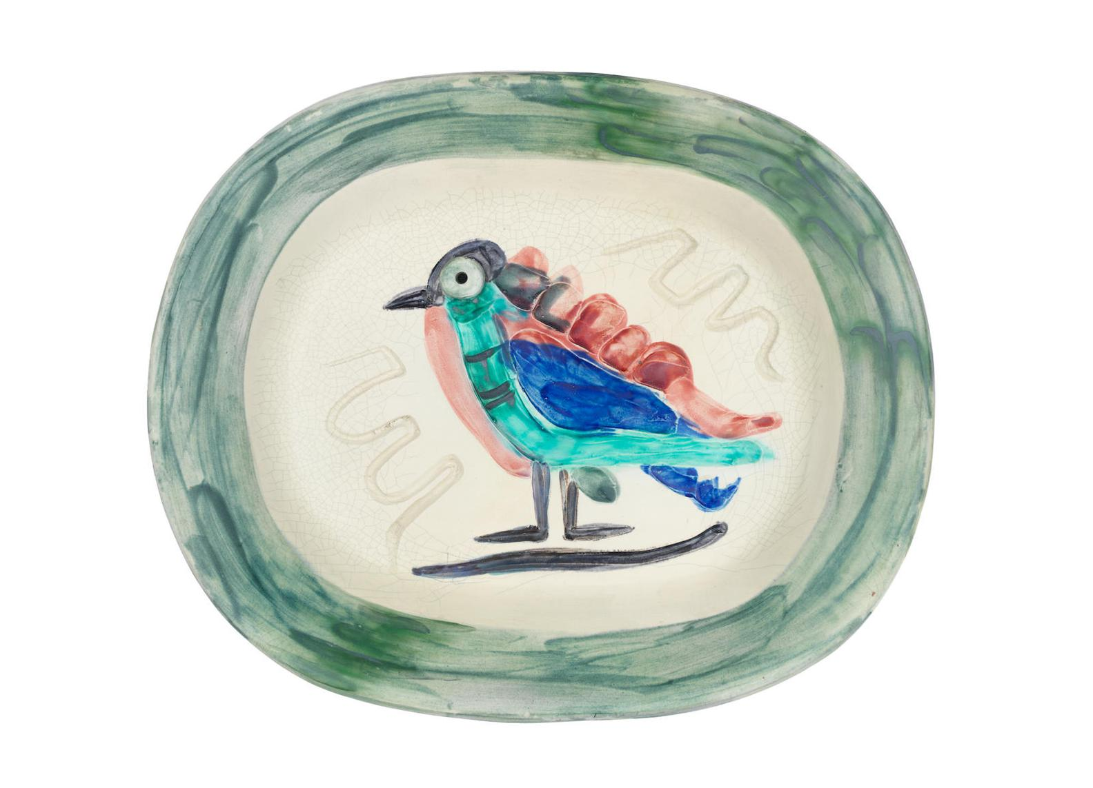 Pablo Picasso-Polychrome Bird-1947