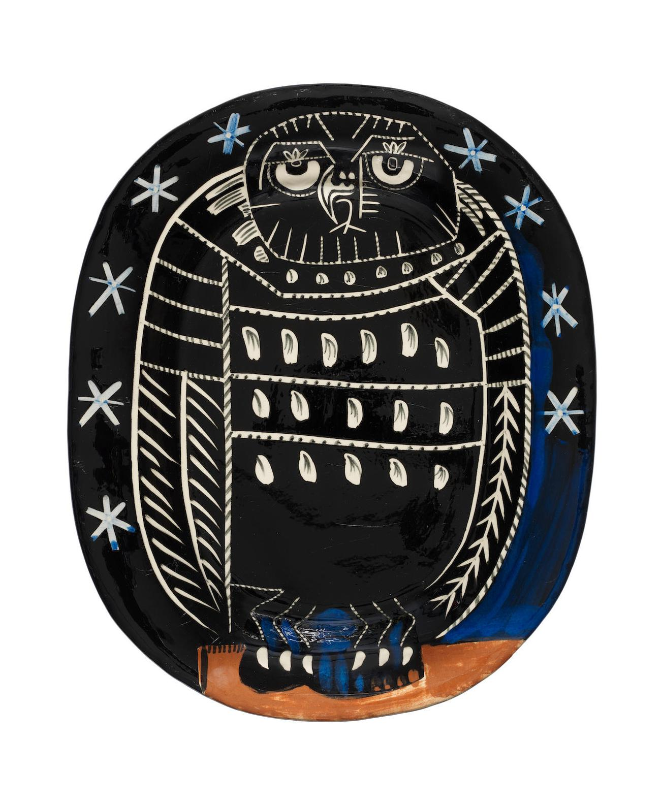 Pablo Picasso-Bright Owl-1955