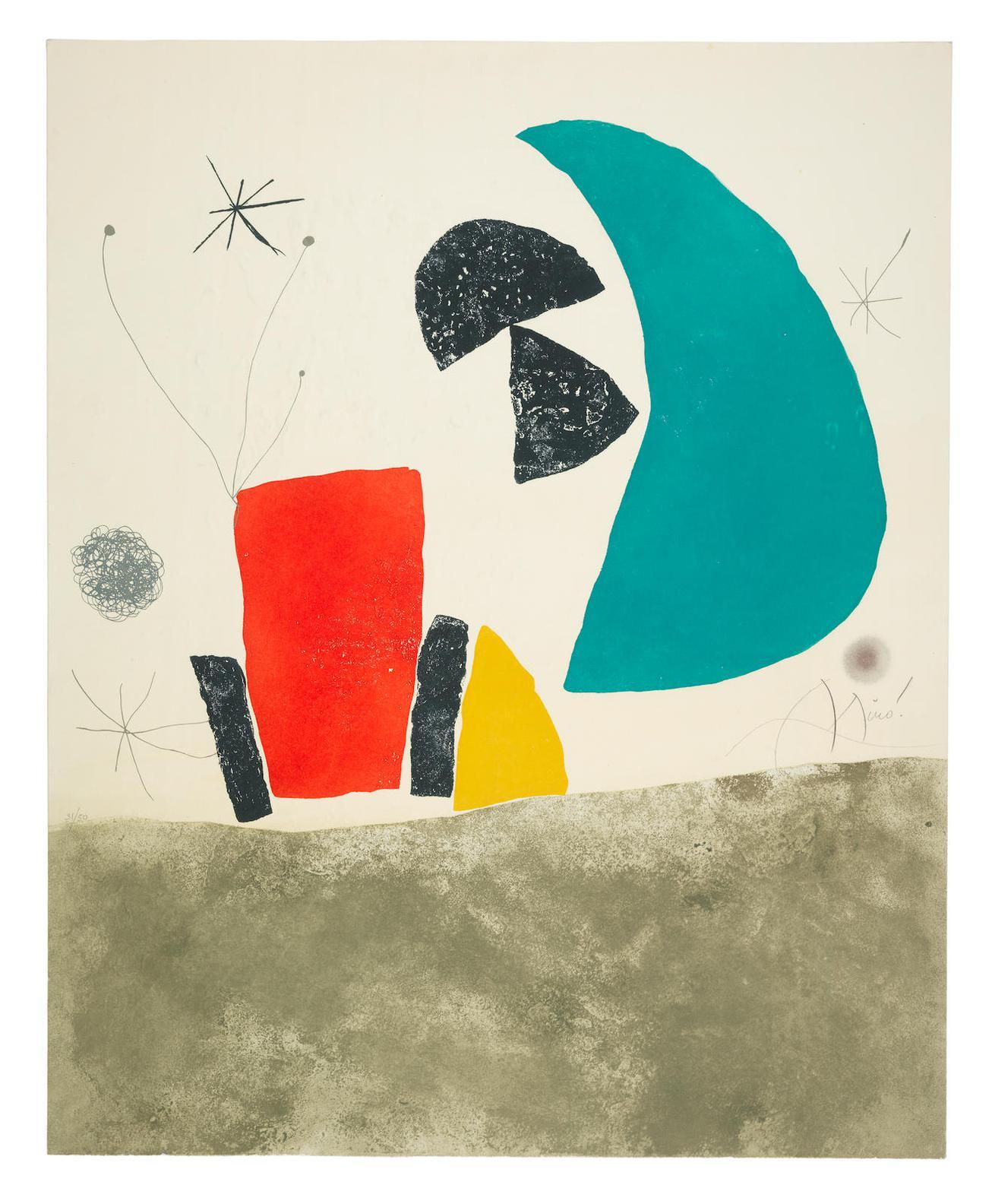Joan Miro-Espriu - Miro-1975