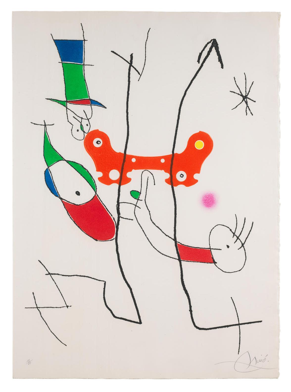 Joan Miro-Le Plus Beau Cadeau-1995