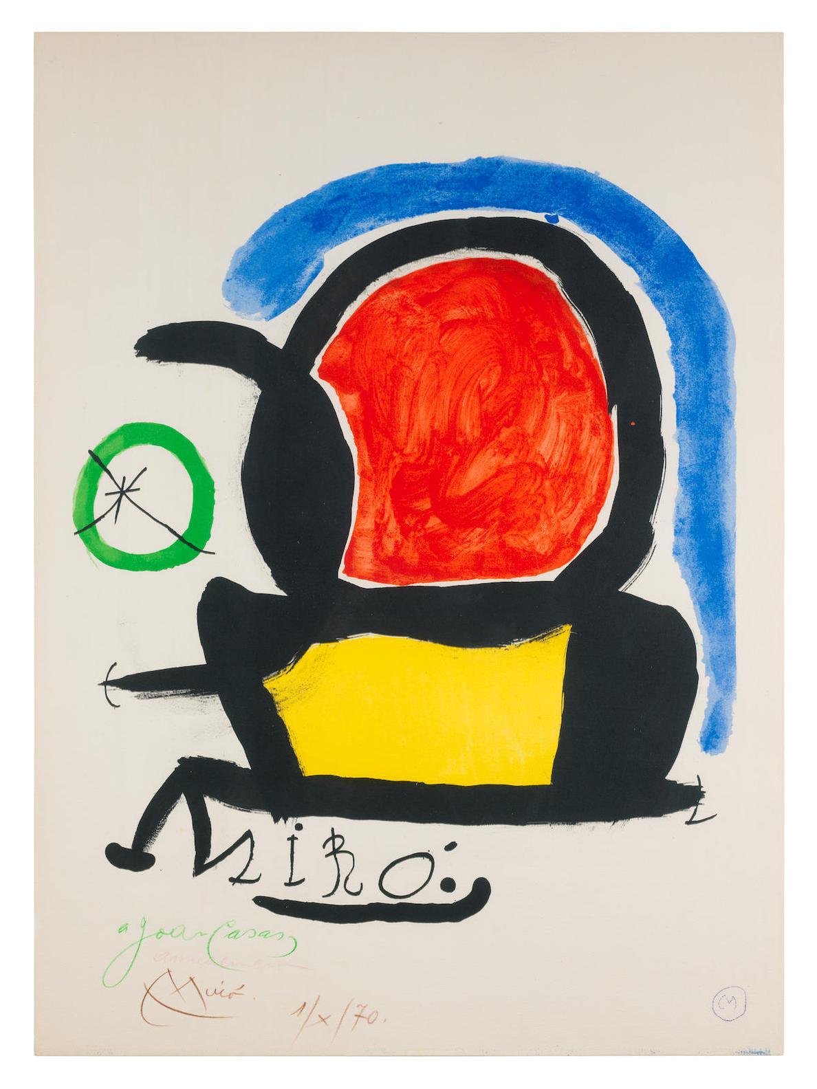Joan Miro-Miro El Tapis De Tarragona-1970