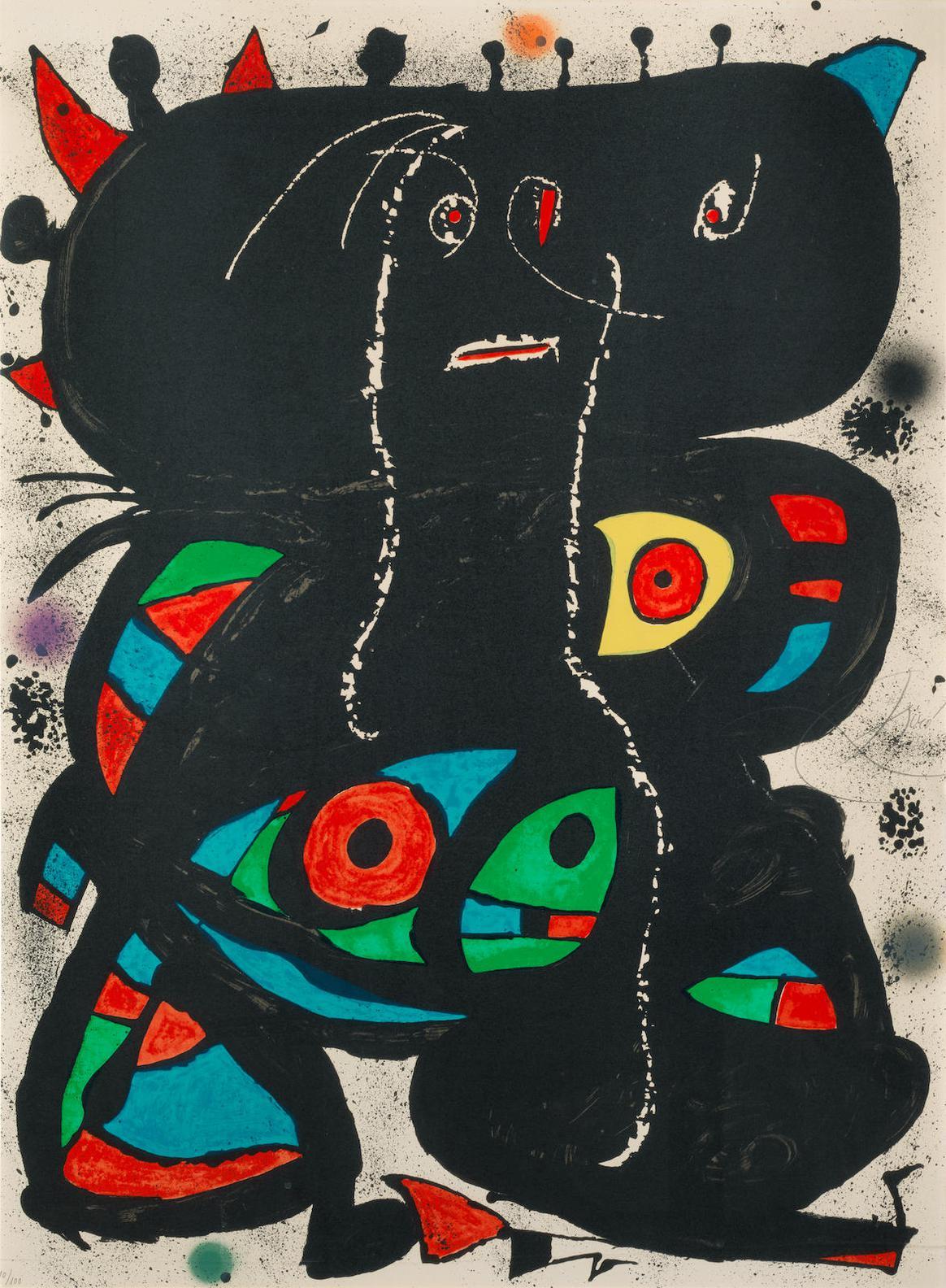 Joan Miro-Hommage Aux Prix Nobel-1976