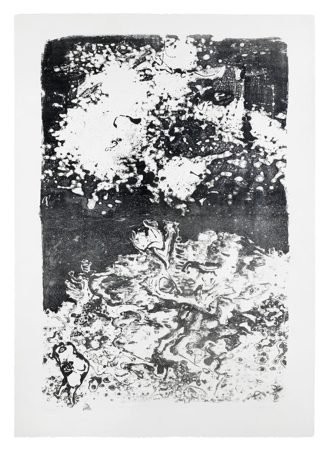 Jean Dubuffet-Le Ciel Etranger-1953