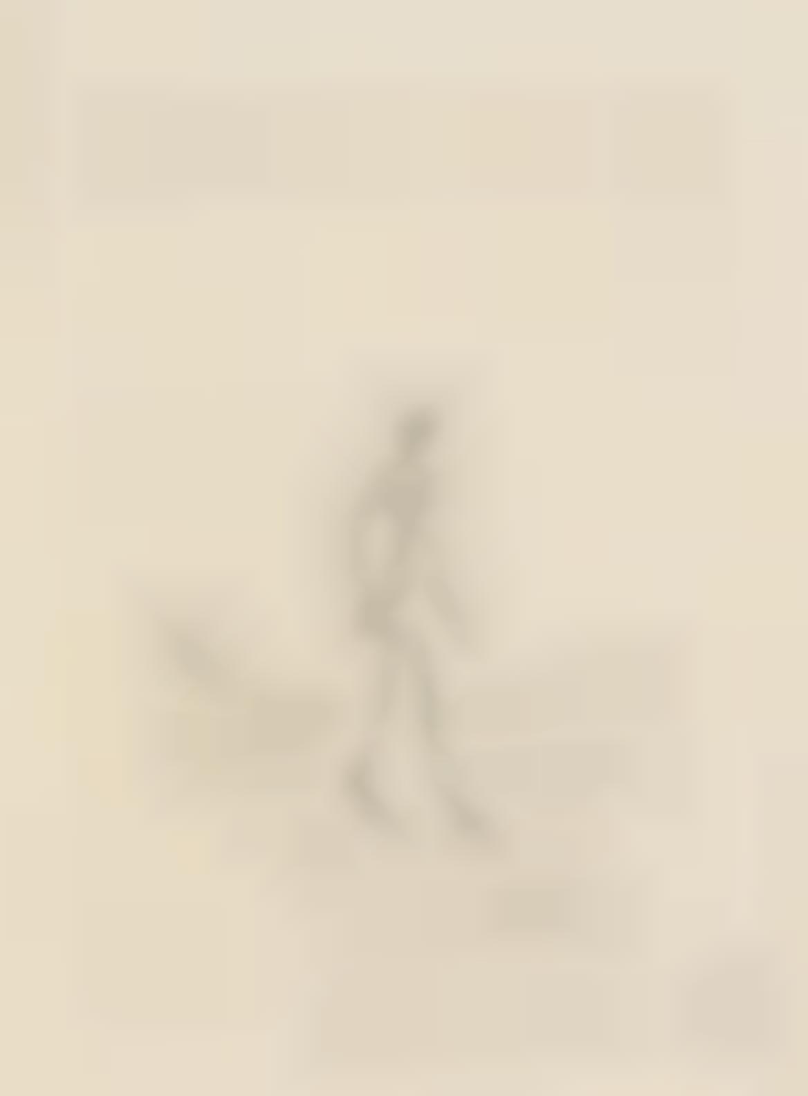 Alberto Giacometti-Figure Walking To The Right-1960