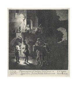 Jan Van Der Velde II - The Good Samaritan Paying The Innkeeper