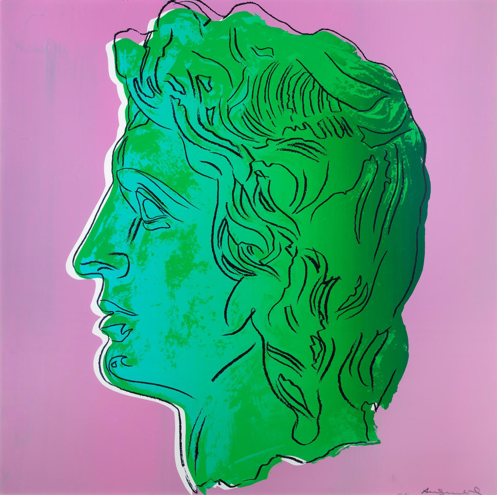 Andy Warhol-Alexander The Great-1982