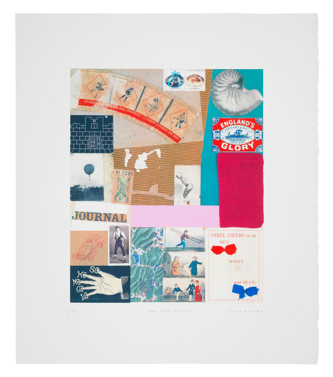 Peter Blake-Homage To Schwitters-2005