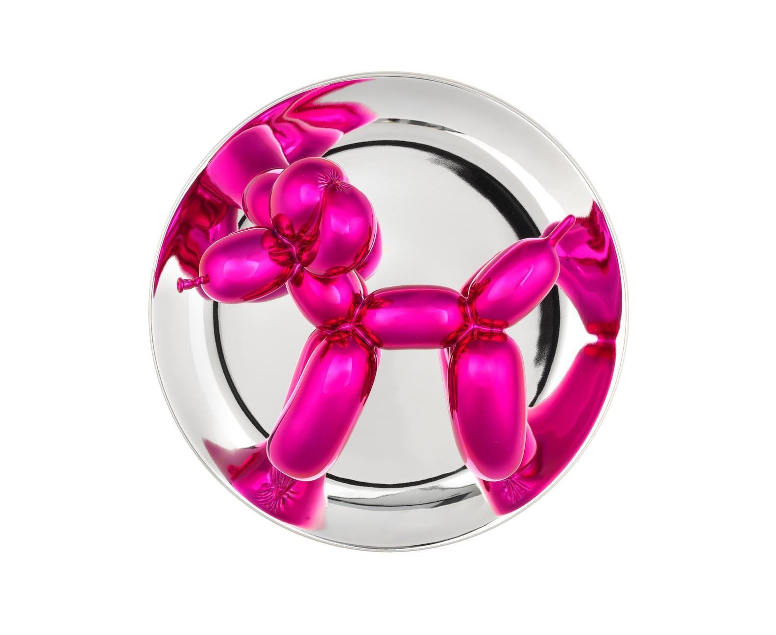 Jeff Koons-Balloon Dog (Magenta)-2015